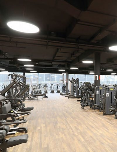 LED svetila v fitnesu