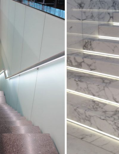 osvetlitev stopnic