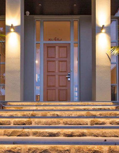 LED osvetlitev na vhodu